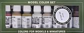 Набор красок Model Color строительство (6 красок, 2 смывки)
