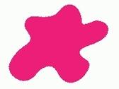 H099 Fluorescent Pink Глянец