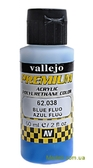 Краска акрил-полиуретановая Premium Color, синий флуоресцентный
