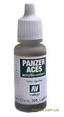 Краска акриловая Panzer Aces светлая резина