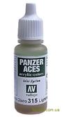 Краска акриловая Panzer Aces светлая грязь