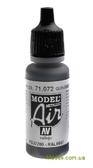 Краска акриловая Model Air оружейный металл