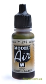 Краска акриловая Model Air коричневый НАТО