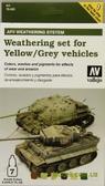 Набор красок Цветовая модуляция для везеринга желтых и серых моделей транспортных средств