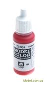 Краска акриловая Model Color 186 красный прозрачный