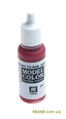 Краска акриловая Model Color 032 темно-красный