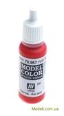 Краска акриловая Model Color 031 темно-красный