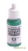 Краска акриловая Model Color 072  темно-зеленый