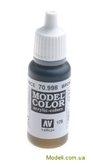 Краска акриловая Model Color 175 бронза
