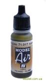 Краска акриловая Model Air русский зеленый