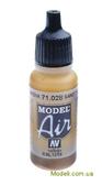 Краска акриловая Model Air желтый песок