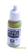 Краска акриловая Model Color 109 зеленый пастельный