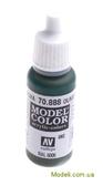 Краска акриловая Model Color 092 серо-оливковый