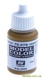 Краска акриловая Model Color 144 зеленовато-коричневый