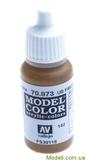 Краска акриловая Model Color 142 США тускло-коричневый
