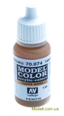 Краска акриловая Model Color 134 США коричневый земляной
