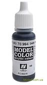 Краска акриловая Model Color 166 темно-серый