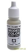 Краска акриловая Model Color 110 бронзово-серый