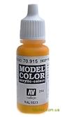 Краска акриловая Model Color 014 темно-желтый