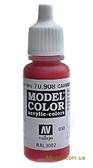 Краска акриловая Model Color 030 кармин красный