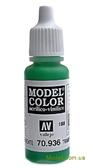 Краска акриловая Model Color 188 прозрачно-зеленый