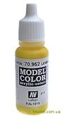 Краска акриловая Model Color 011 лимонно-желтый