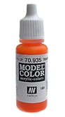 Краска акриловая Model Color 185 оранжево-прозрачный