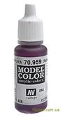 Краска акриловая Model Color 044 пурпурный