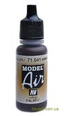 Краска акриловая Model Air коричневый, танковый