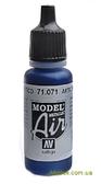 Краска акриловая Model Air арктический синий металл