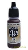 Краска акриловая Model Air Махагон