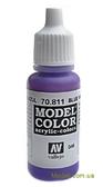 Краска акриловая Model Color 046 сине-фиолетовый