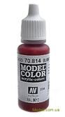 Краска акриловая Model Color 034 красная умбра