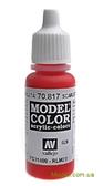 Краска акриловая Model Color 026 алый