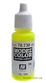 Краска акриловая Model Color 206 желтый флюоресцентный