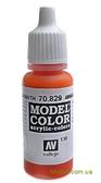 Краска акриловая Model Color 130 амарант красный