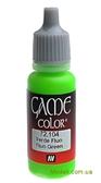 Краска акриловая Game Color Fluo green