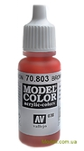 Краска акриловая Model Color 038 коричневая роза