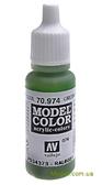 Краска акриловая Model Color 076 зеленоватый, небесный
