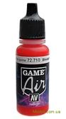 Краска акриловая Game Air кроваво-красный