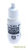 Краска акриловая Model Color 201 белила глазурные