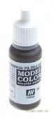 Краска акриловая Model Color 204 коричневый глазурный