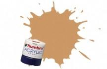 Краска водорастворимая  коричнево-желтая Humbrol 094