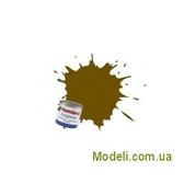 Краска эмалевая  оливковая темная матовая
