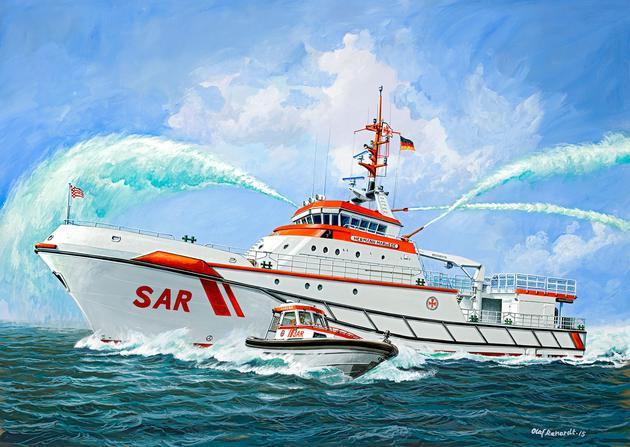 Корабль Hermann Marwede (update 2012) Revell 05220