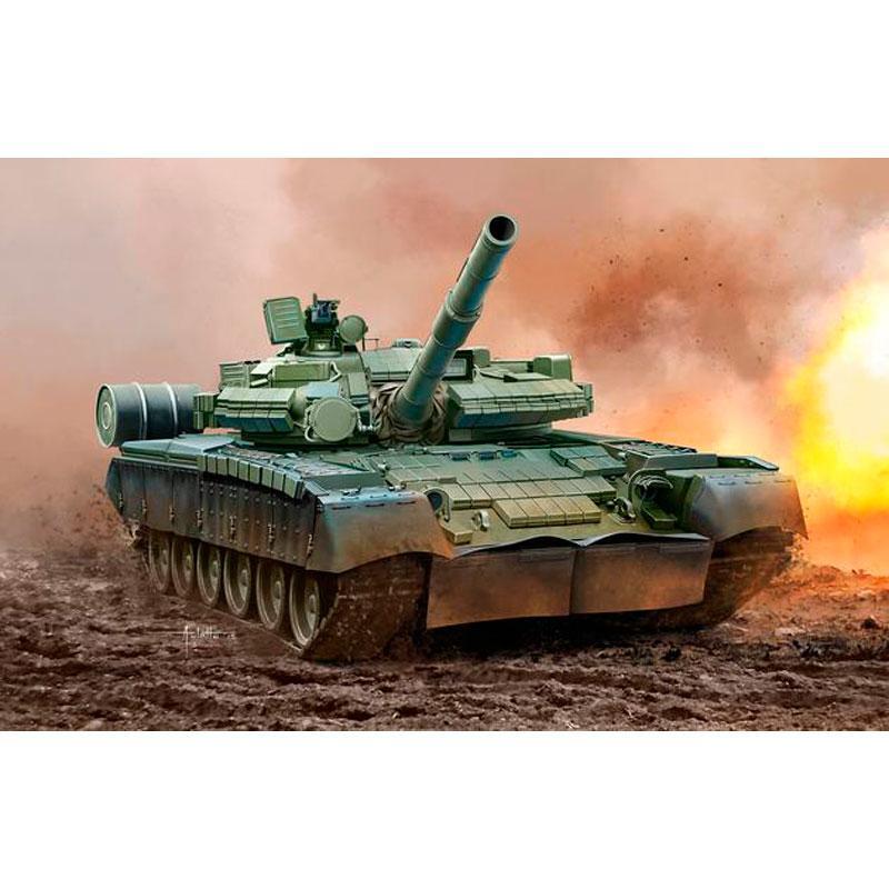 Танк (1985г.; СССР) T-80 BV Revell 03106