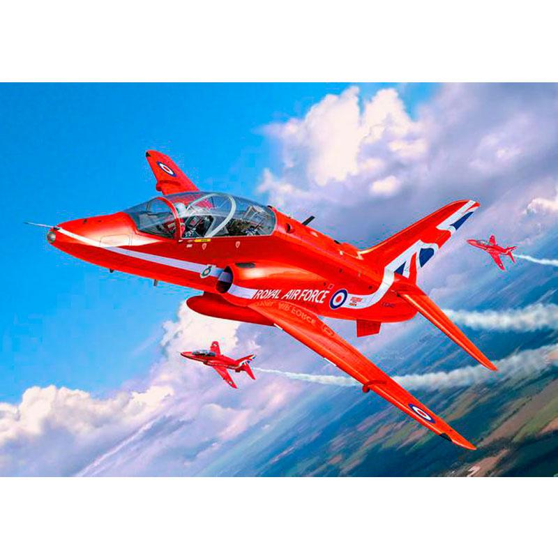 Лёгкий штурмовик BAe Hawk T.1 Red Arrows Revell 04921