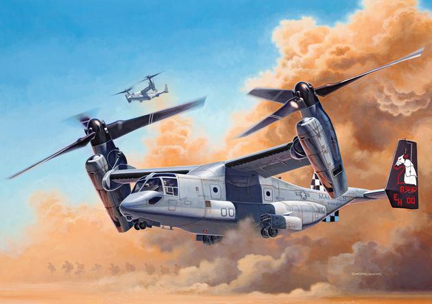 Конвертоплан MV-22 Osprey Revell 03964