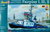 Портовый буксир (2007/2009гг.,Германия) Harbour Tug Boat Fairplay I, III, X, XIV