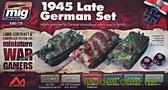 Набор акриловых красок Wargames AMMO A-MIG-7118: Техника Германии, 1945